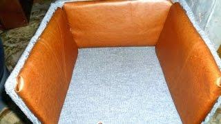 Как построить кошкин дом из коробки(Хотите сделать простой кошкин дом из пустой коробки? Это просто, это дешево, и ваша кошка будет очень доволь..., 2016-01-14T06:56:04.000Z)