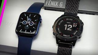 Garmin Fenix 6 vs Apple Watch Series 6 // An Unfair Comparison?