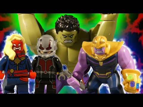 LEGO AVENGERS INFINITY WAR THE MOVIE - TRAILER 2 - MARVEL STOP MOTION