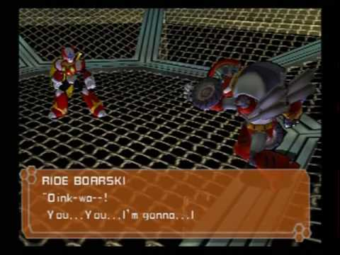 The amazing voice acting in Mega Man X7 (part 1).