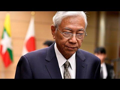 رئيس ميانمار يعلن استقالته -كي يستريح-  - نشر قبل 42 دقيقة