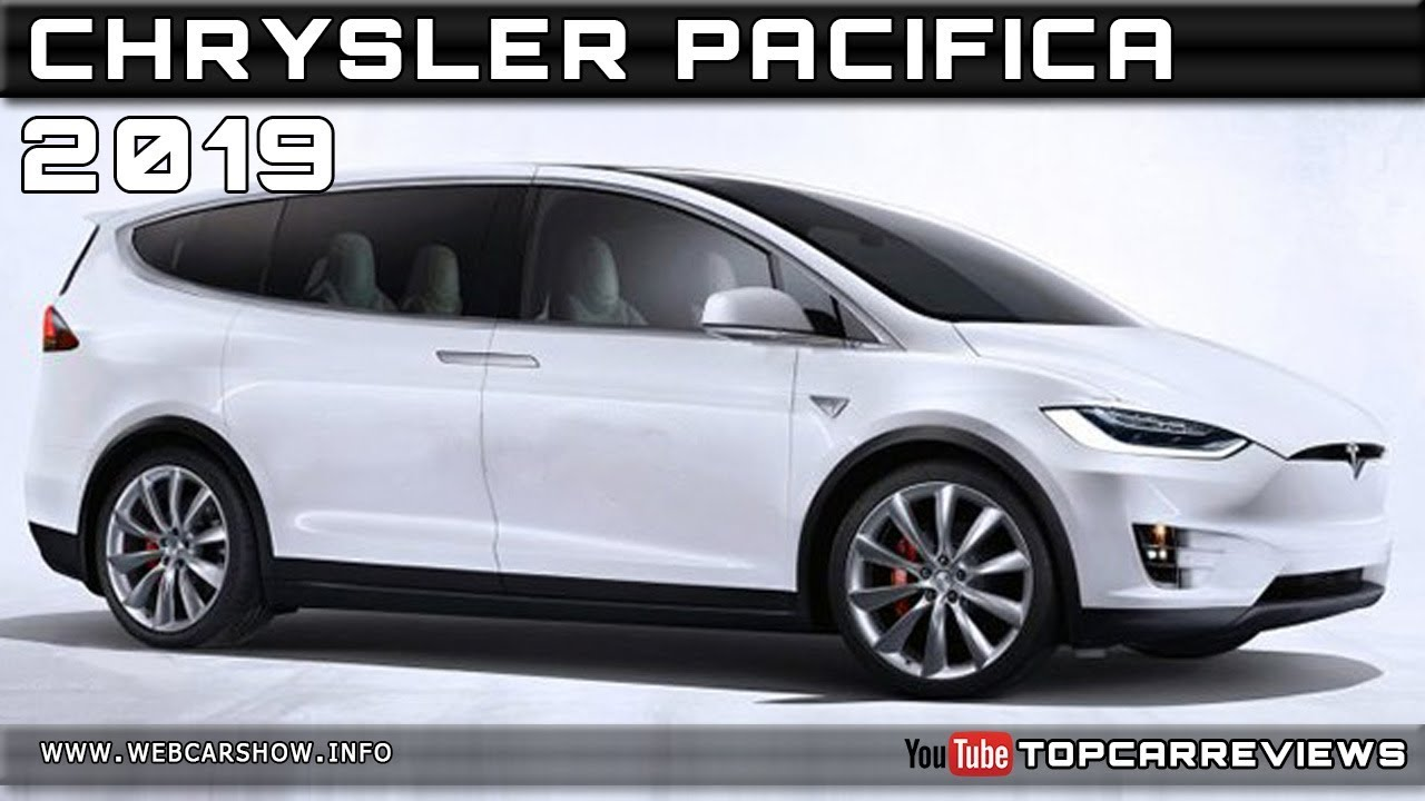 2019 Chrysler Pacifica Review Rendered Price Specs Release Date