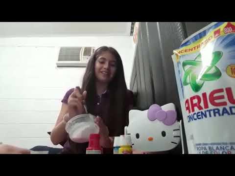 COMO HACER SLIME | Gabriela Rechi