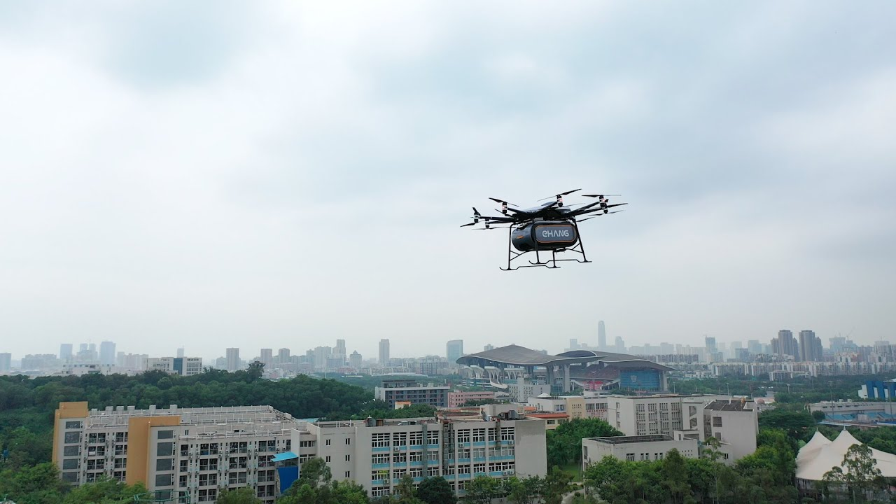 EHang unveils heavy-lift autonomous aerial vehicle