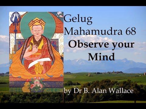 Gelug Mahamudra 68 Observe your Mind by Dr B. Alan Wallace