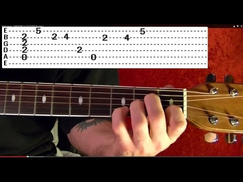 And I Love Her ( With Solo ) by THE BEATLES - Guitar Lesson - Paul McCartney