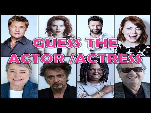 Guess the ACTOR/ACTRESS For His EYES    Movie Quiz