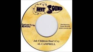 "7"" Al Campbell - Jah Children Don"