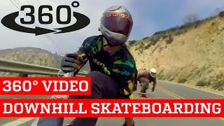 Awesome Downhill Skateboarding VR (360° Video!) thumbnail