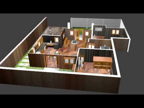Animasi Blender Skema Rumah & Animasi Blender Skema Rumah - YouTube