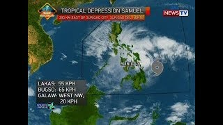 NTG: Weather update as of 11:04 a.m. (November 20, 2018)