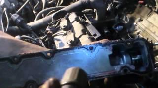 Lexus RX 300 1MZ-FE зняття колектора та усунення витоку антифризу