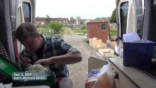 Visiting Rick & Seedlings | May (ep13/y2) | Sean's Allotment Garden