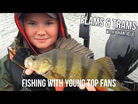 Flams & Trams - Fishing with Young Top Fans - Kanalgratis.se (English subtitles)