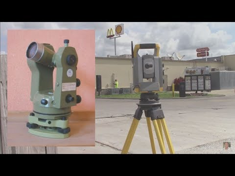 Modern surveying is way different than when I started