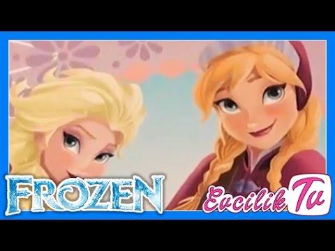 Karlar ülkesi Elsa Boyama Sayfaları Frozen Karlar Kraliçesi Boyama