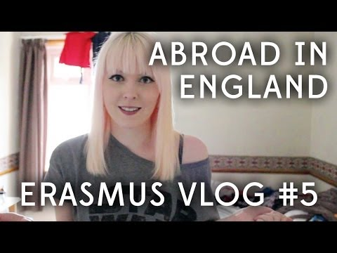 [ ERASMUS Vlog #5 ] First few days in Southampton | Abroad in England