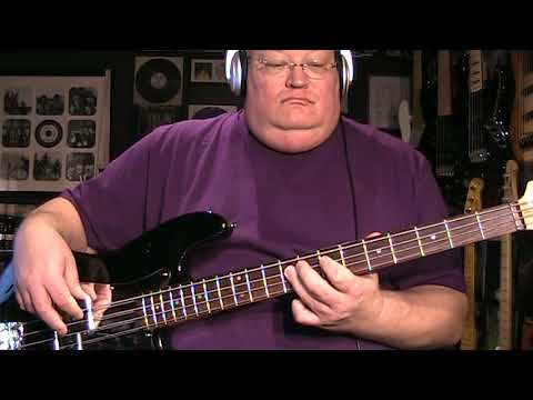 Thin Lizzy Cowboy Song Bass Cover with Notes & Tab