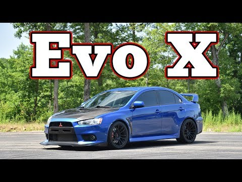 2010 Mitsubishi Lancer Evolution X GSR: Regular Car Reviews