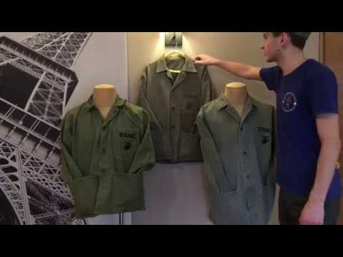 Comparison Of Reproduction USMC WW2 Jackets.