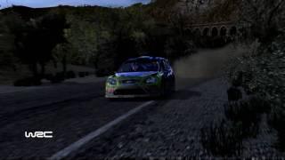 WRC 2010 Gameplay + Replay (PC HD) Rally de Espana - El Priorat 1