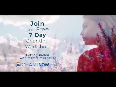 Explore Chanting with our Free 7 Day Workshop