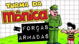 Baixar TURMA DA MÔNICA E AS FORÇAS ARMADAS #meteoro.doc