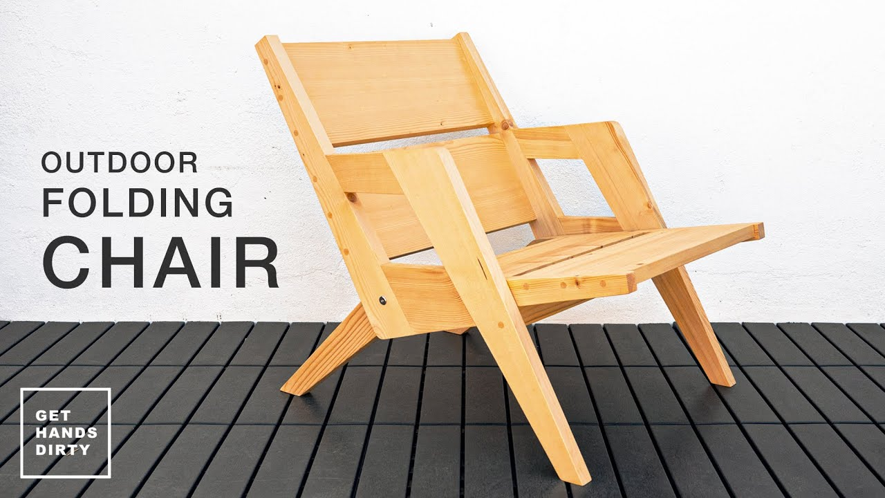 How to Build an Outdoor Folding Chair // Basic Tools Project