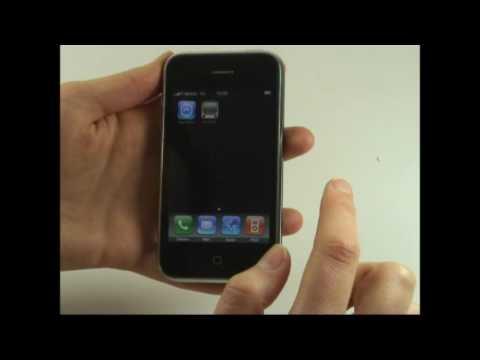 Apple iPhone 3G Test Bedienung
