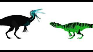 ASDC2 - Allosaurus vs Suchomimus
