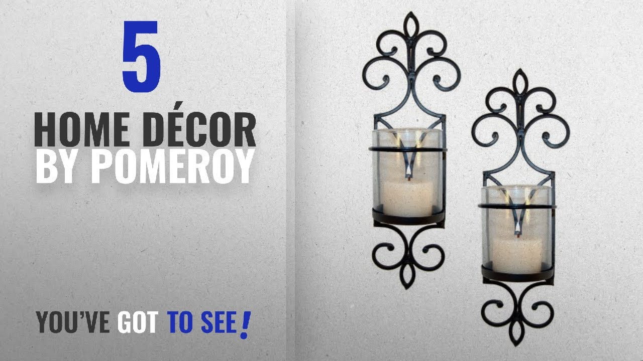 Top 10 Home Décor By Pomeroy Winter 2018 Pentaro Candle Holder Sconce Wall Lighting