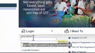gst 32 first accounting software in malaysia to show gst03 submission