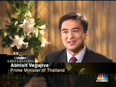 CNBC Interview with PM Abhisit Vejjajiva