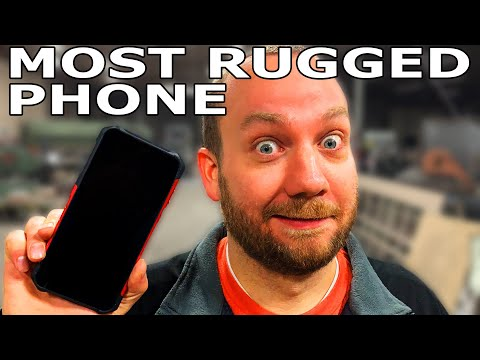 World鈥檚 Most Rugged Phone vs Waterjet - Random Machine Shop Tests