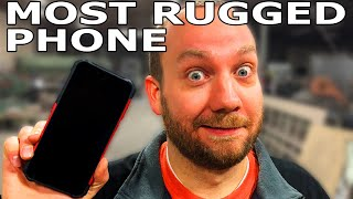World's Most Rugged Phone vs Waterjet - Random Machine Shop Tests