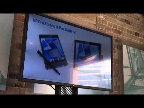 HP launch 2015 range of new Windows & Android tablets for business, education, health, retail & more