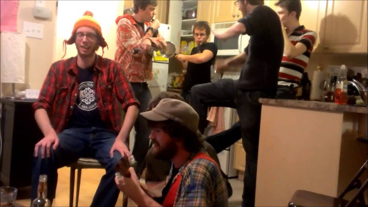 Kitchen Party Toms Newfie Kitchen Party Sing A Long Birthday Youtube