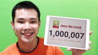 1,000,000 SUBSCRIBERS DALAM 5 BULAN!