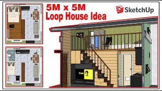 Small House Design Idea For 5m X 5m Low Budget