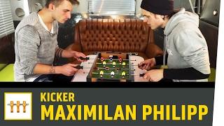 Tischkicker-Battle gegen Maximilian Philipp (SC Freiburg)   Kickbox