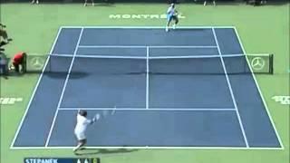 Gonzalez vs Stepanek Montreal 2007 Highlights 2R