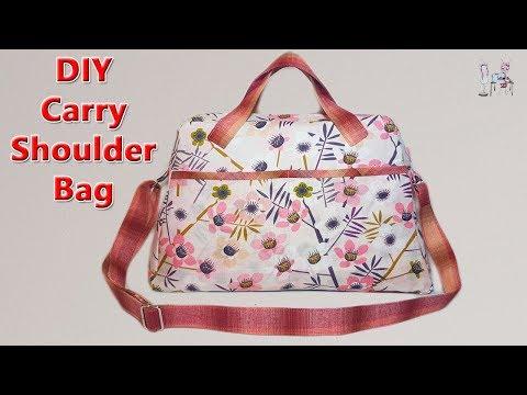 DIY SHOULDER BAG | DIY HANDBAGS | BAG SEWING TUTORIAL | Coudre Un Sac | Bolsa