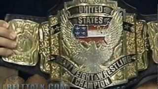 History of the WCW/WWE United States and WWF European Championship