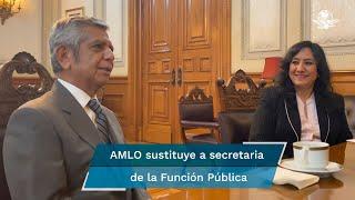 El presidente López Obrador señaló que se continuará con la política de cero corrupción y cero impunidad