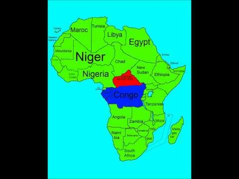 Alternate Future of Africa - Part 1 - Central Afrika Stronk!