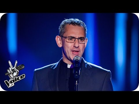 Rev John Barron performs 'This Is The Moment'  The Voice UK 2016: Blind Auditions 1