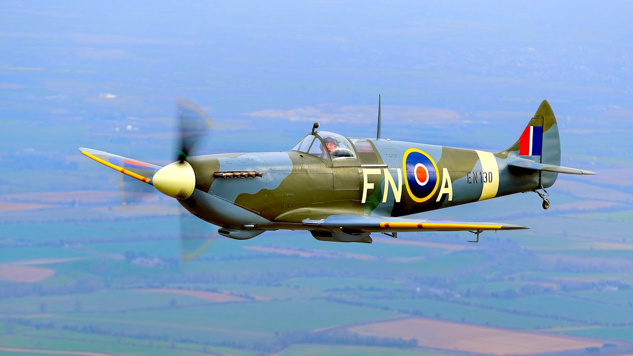 Spitfire Club - Team Building Squadron Of Iconic WW2 ...