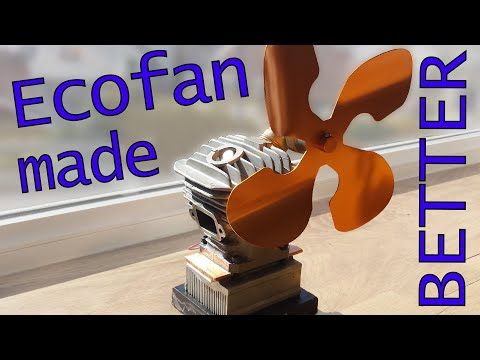 Fix Stove Fan's Achilles Heel - making a game changing ecofan (upcycled)