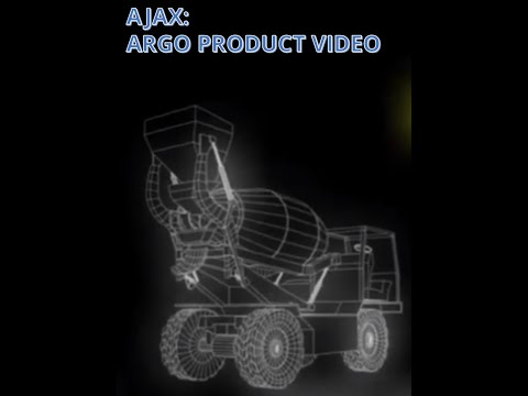 AJAX - SELF LOADING CONCRETE MIXER (SLCM) ARGO MODEL - PRODUCT VIDEO
