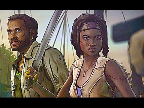 The Walking Dead Michonne Full Episode 1 Gameplay Walkthrough Telltale no commentary